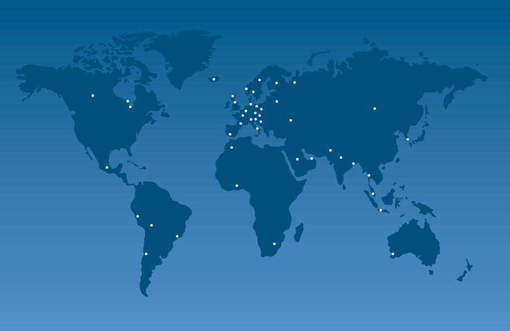 rede de distribuidores RHTC