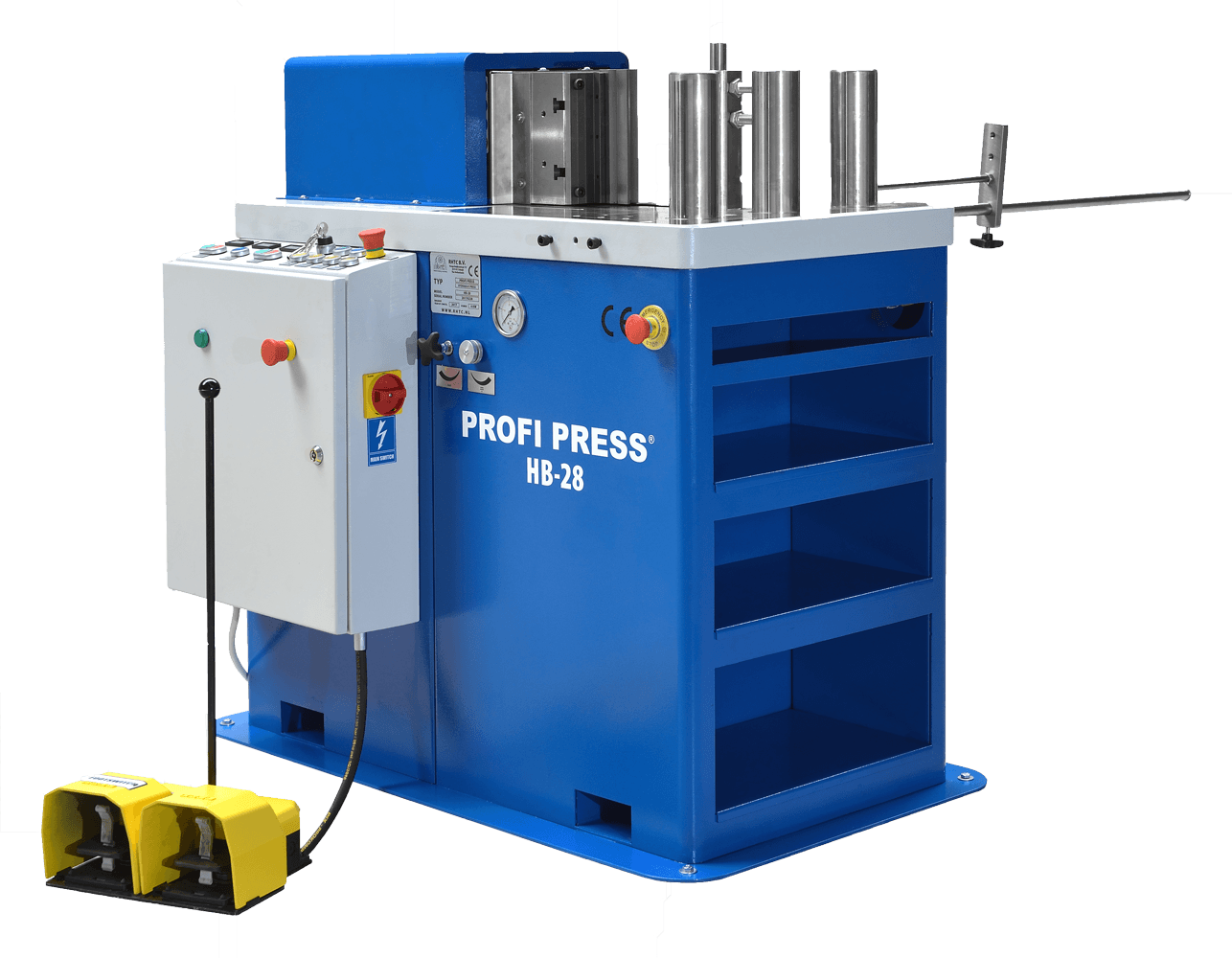 Horizontal-Hydraulic-Press