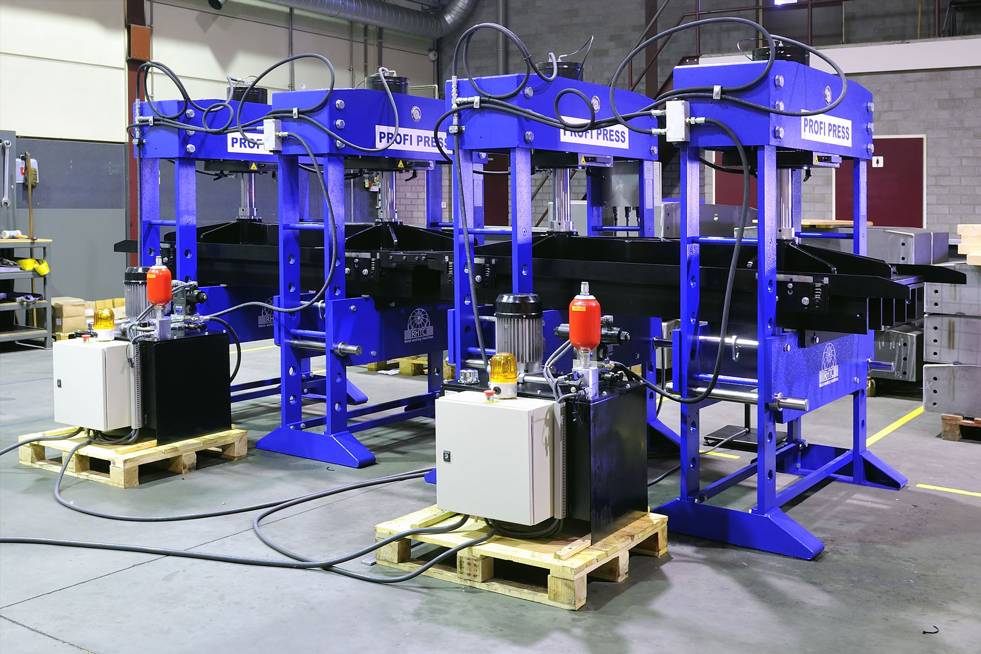 Hydraulic Presses for Aviation Industry