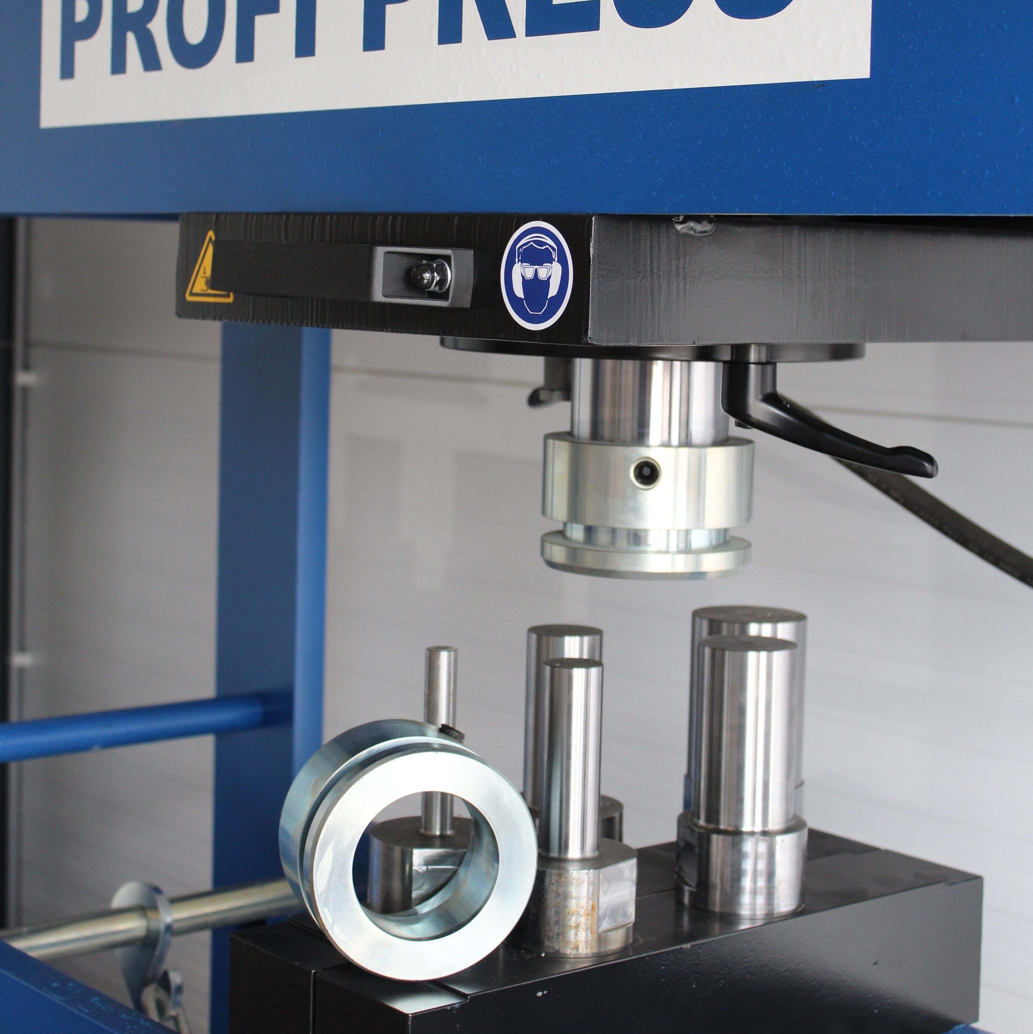 Mandrel Set 100 Ton Press