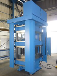 Large four column press