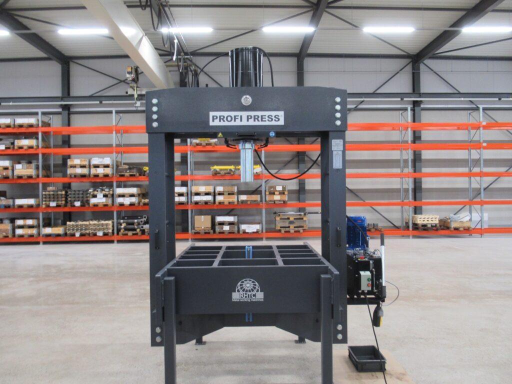 Custom-made portal press