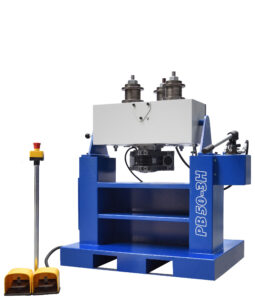 horizontal position profile bending machine