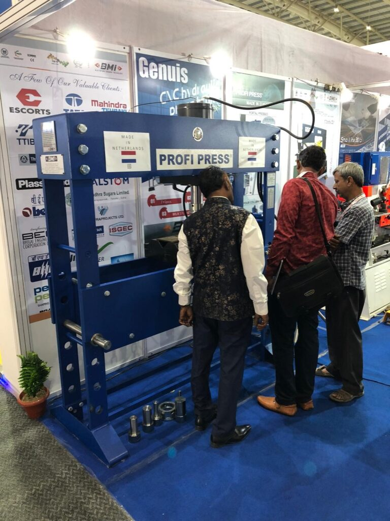IMTEX hydraulic press