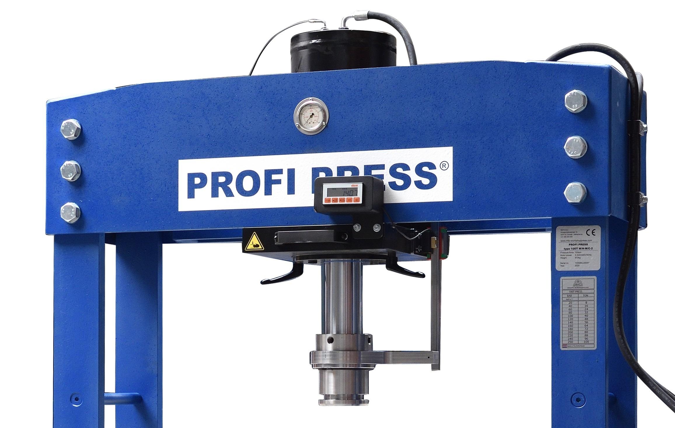 Digital Read-Out Cylinder Stroke