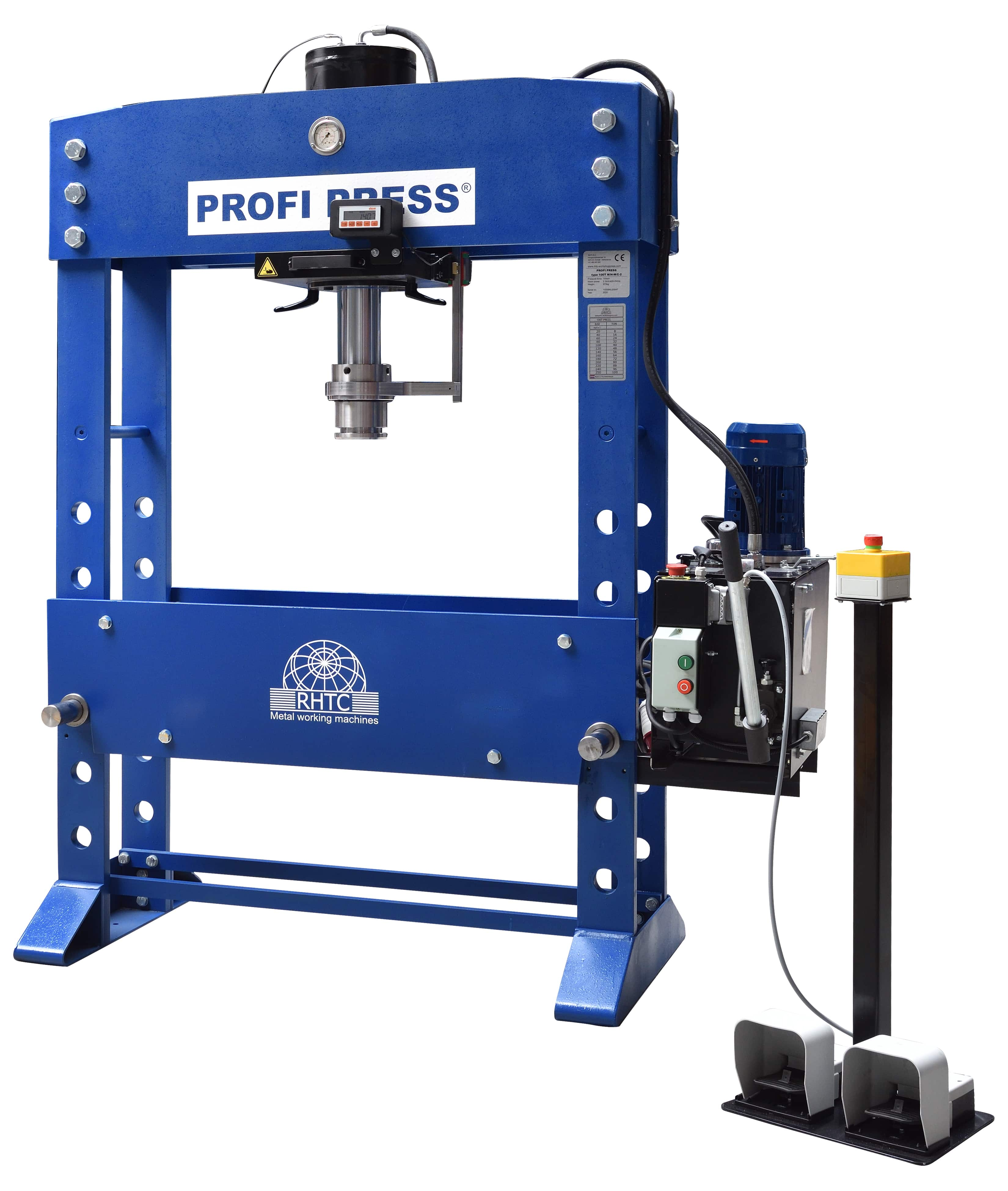 Hydraulic Press with Accessories