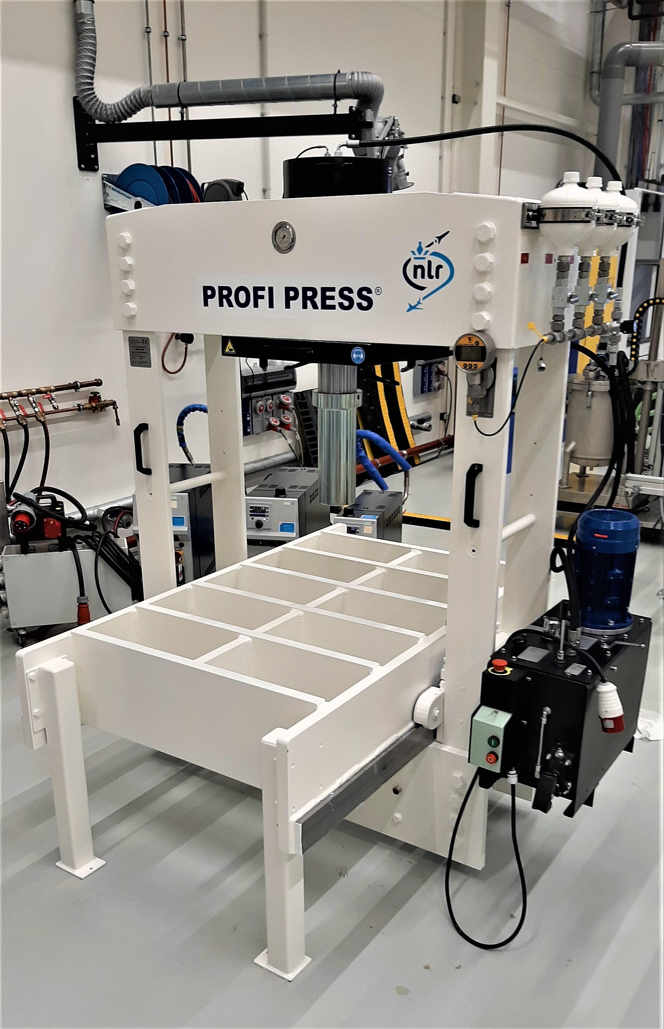 Портальный Пресс для Аэрокосмической ПромышленностиGantry Press for Aerospace Industry
