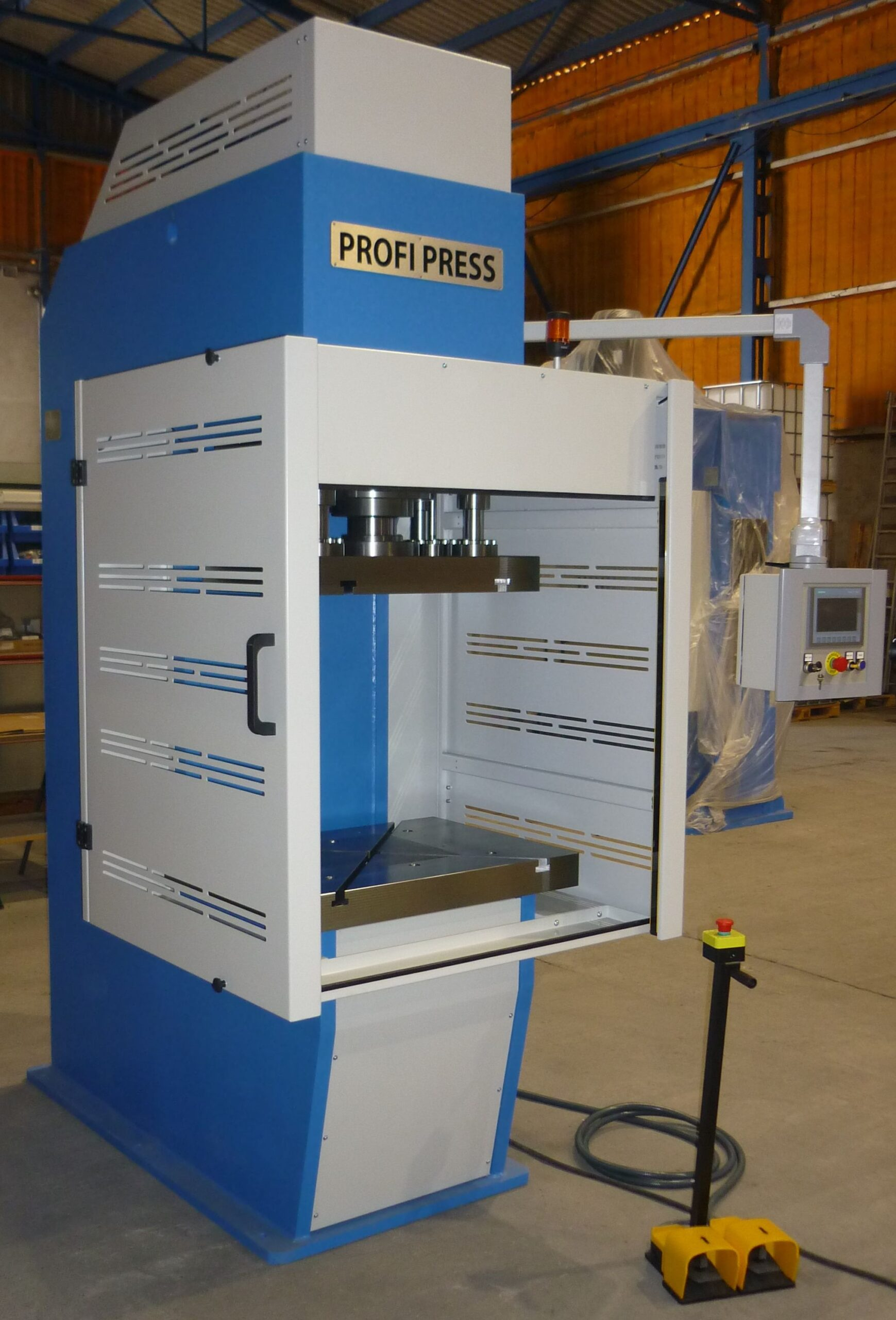 PPCF-100, C-Frame Press