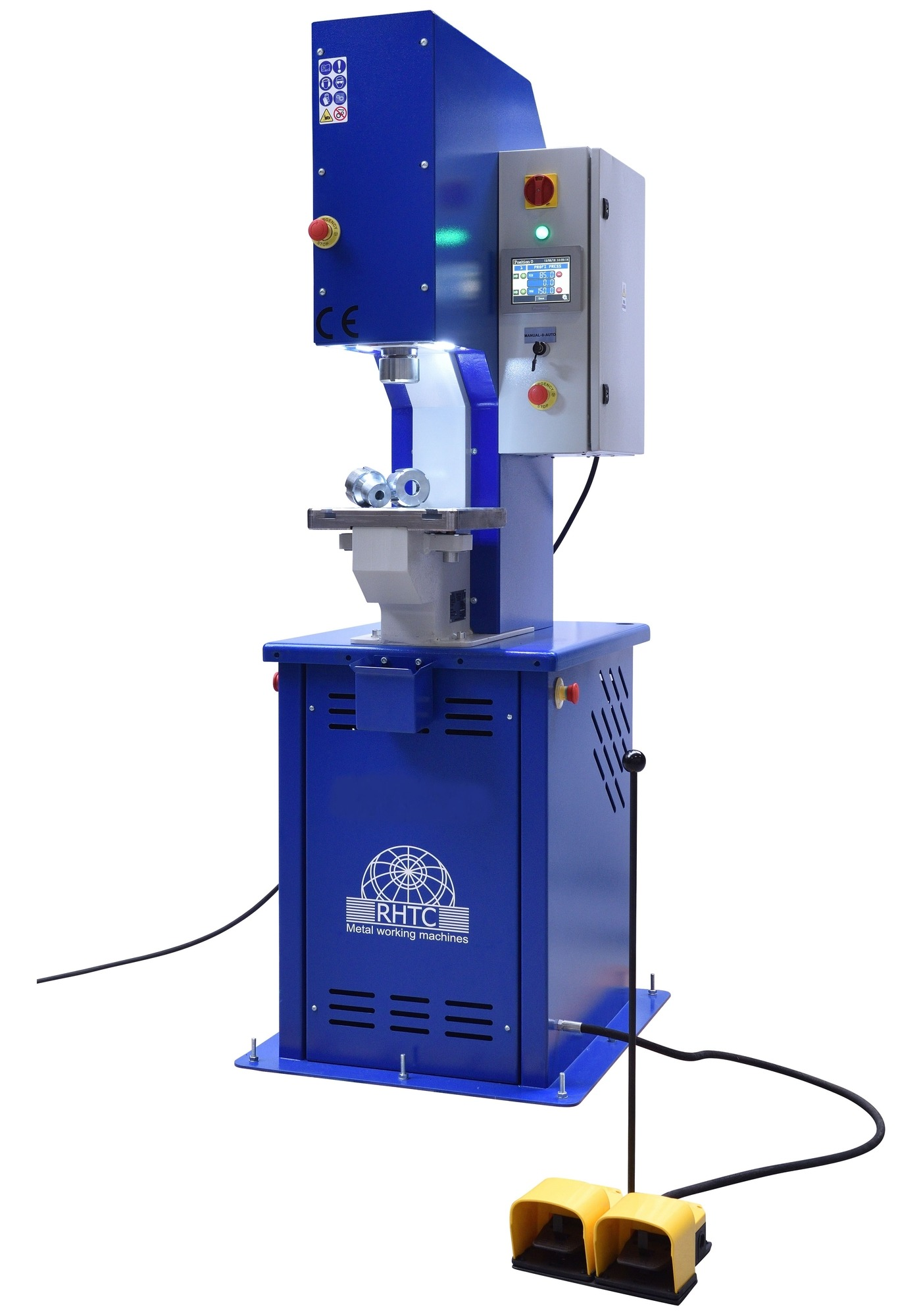 Hydraulic C-frame Press 80 Ton (PPC-model)