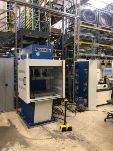 C-frame Pers, geleverd aan STILL GmbH